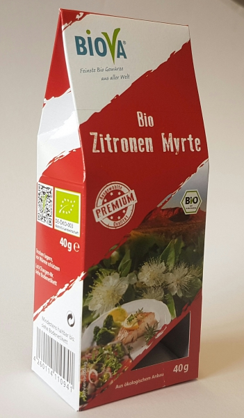 40gr BIO Lemon Myrtle - Zitronen Myrte