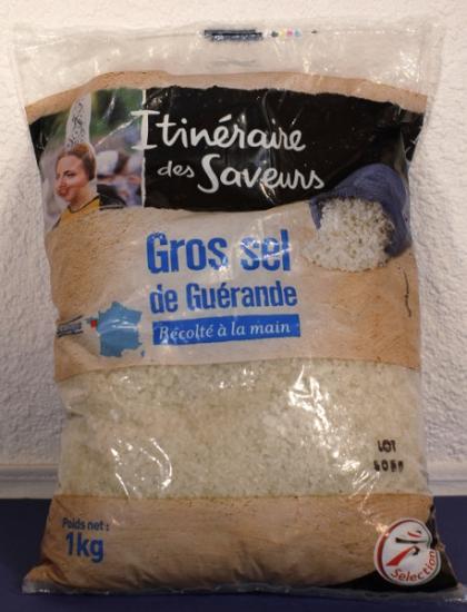 Gros sel de Guerande-Meersalz grob-grau-Bretagne/Frankreich 1kg