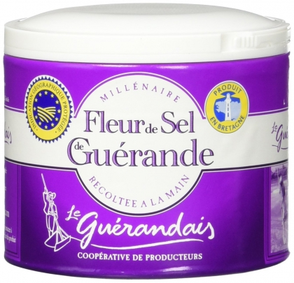 Guérandais, Fleur de Sel Guerande, Graues Meersalz 125g
