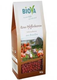 BIO Rosa Pfeffer Beeren aus Brasilien, 50g