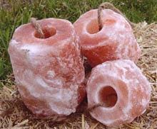 Salzleckstein für Tiere ca 1,5 - 2 kg - Premium-Qualität
