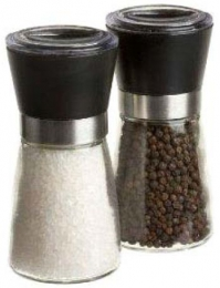 1 Mühle für Salz oder Pfeffer geeignet