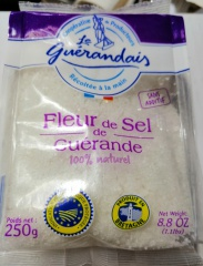 Fleur de Sel de Guérande, Meersalz Frankreich, Bretagne, 250g