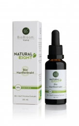 8% (800mg) Prozent Bio CBD Öl -Natural EIGHT 30ml